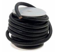 Cordón de cuero de 6mm para bisutería