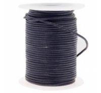 Cordón de cuero de 1,5mm para bisutería