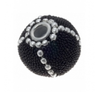 Bola forrada granito con cadena inercalada de 20mm