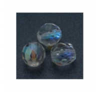 Bola facetada de cristal checo de 3mm