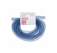 Cordón de plástico enrejado tubular de 8mm