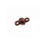 Cierre de imán redondo barroco simple de 8mm