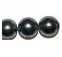 Perla redonda de cristal de 10mm