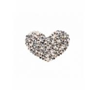 Corazón de tupis en crystal rocks de 27mm