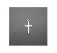 Colgante cruz de 19mm de plata de ley
