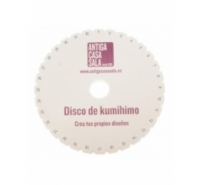Disco Kumihimo de 15cm