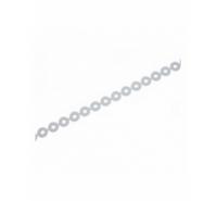 Lentejuela plana redonda de 5mm