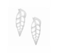 Concha vertagos plana de color blanco de 45mm aprox.