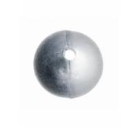 Abalorio bola de plástico de 8mm