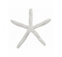 Abalorio colgante estrella de mar de zamak de 48mm