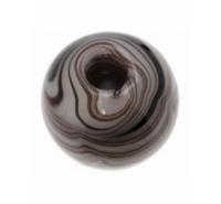 Bola de cristal de 14mm rayada