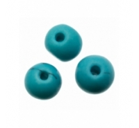 Abalorio bola de cerámica de 4mm con betas