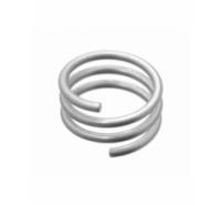 Anillo de alambre de tres vueltas en talla 14 (17,19mm)
