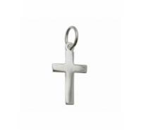 Colgante cruz de 16,5x9mm de plata de ley 925