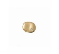 Cierre botón barroco de 16mm con símil de cristal paso 3,5mm
