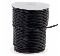 Cordón de cuero de 3mm para bisutería