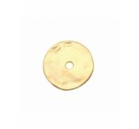 Disco de zamak irregular barroco de 24mm