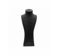 Expositor busto de lino para bisutería
